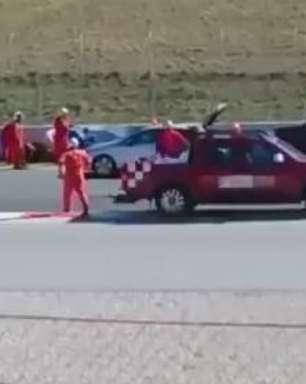 Fórmula 1: novo vídeo mostra momentos pós-acidente de Alonso