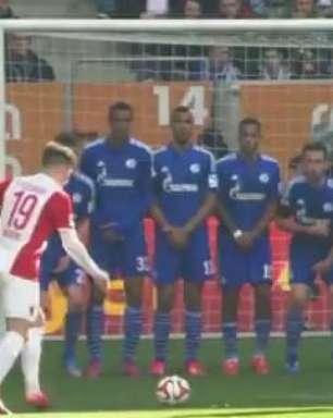 Veja os lances de Augsburg 0 x 0 Schalke pelo Alemão