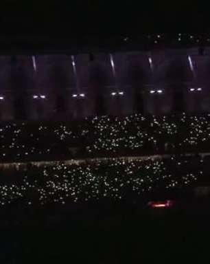 Libertadores: Beira-Rio tem show de luzes da torcida