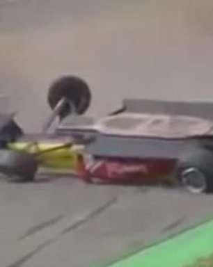 """Piloto com """"sangue brasileiro"""" capota carro na Fórmula 3"""