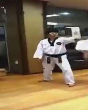 Novo Bruce Lee? Garoto mostra quem manda com golpes certeiros