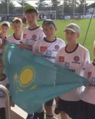 Atlético de Madrid recebe visita de time de órfãos cazaquis