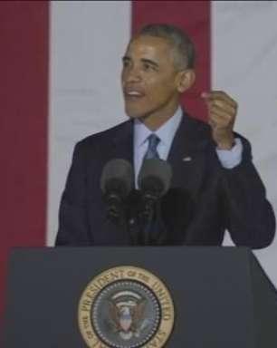 """Obama aposta que EUA vão """"rejeitar medo e eleger esperança"""""""