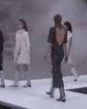 Chanel apresenta sua coleção na Semana da Moda de Paris