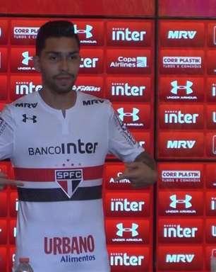 Apresentado, Petros deixa Corinthians no passado: 'Sou mais um tricolor'