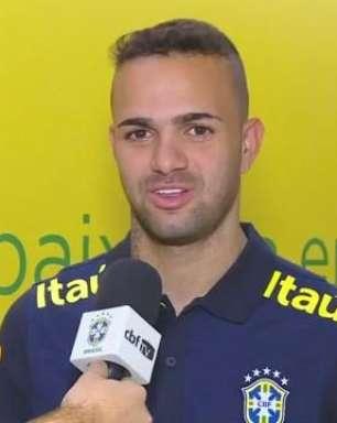 Em casa, Luan retorna à Seleção Brasileira