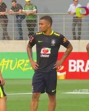 Seleção Brasileira faz primeiro treino em Porto Alegre