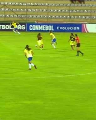 Brasil goleia Colômbia e lidera quadrangular no Sub-20