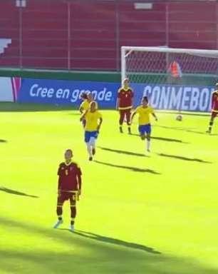 Brasil goleia Venezuela por 5 a 0 no Sul-Americano Sub-20