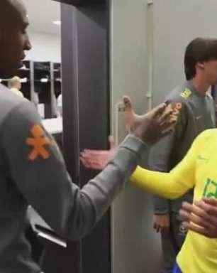 Confira os bastidores da vitória do Brasil sobre a Alemanha