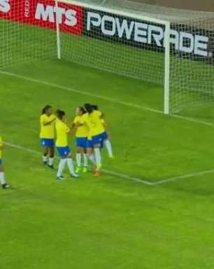 Seleção Feminina vence Argentina na estreia na Copa América
