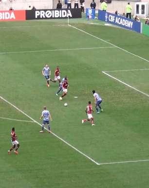 Veja o gol da vitória do Flamengo sobre o Cruzeiro