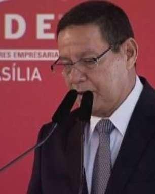 Mourão defende abertura comercial para líderes empresariais