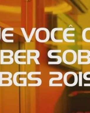 BGS RESPONDE #1   BGS2019
