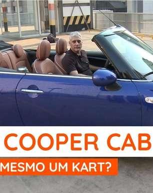 Mini Cooper Cabrio é cheio de charme, mas parece um kart?