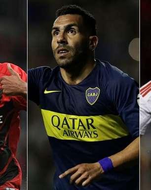 Clubes classificados para Libertadores-2020