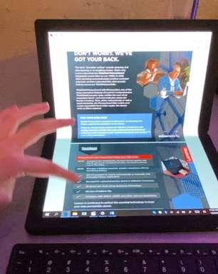 CES 2020: Conhecemos o notebook de tela dobrável da Lenovo