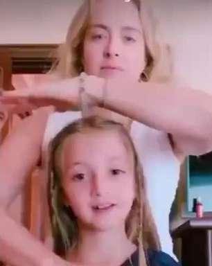 Angélica dança com a filha, Eva, em vídeo e encanta Luciano: 'Com a mamãe'
