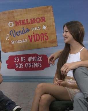 Entrevista O Melhor Verão das Nossas Vidas: Bela Fernandes e Murilo Bispo