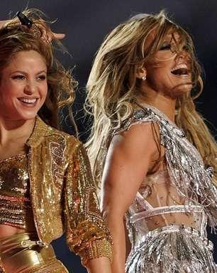 Shakira, J.Lo e o poder latino em alta no Super Bowl