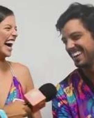 Agatha e Simas: Carnaval é de solteiro, namorado e enrolado