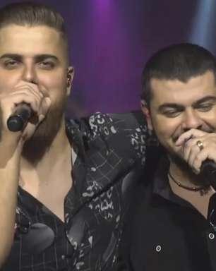 As cenas mais engraçadas da live de Zé Neto e Cristiano