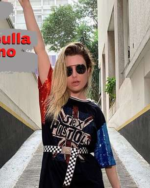 Fernanda Keulla lava o cabelo no tanque e dá dicas de beleza