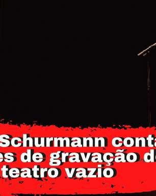 Top brasileira revela bastidores de gravação em teatro vazio
