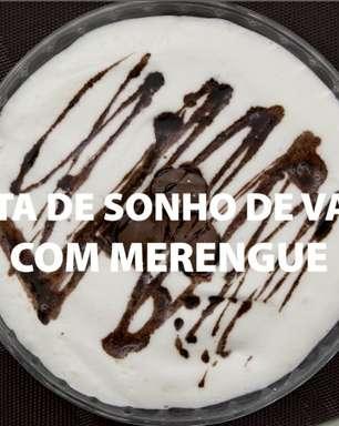 Torta de Sonho de Valsa® com merengue