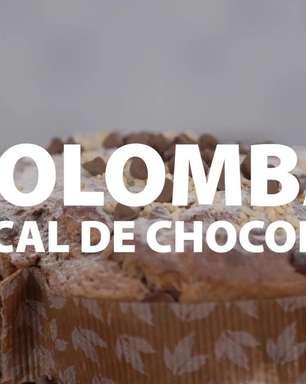 Colomba Pascal de Chocolate