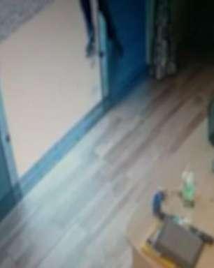 Câmera de segurança registra momento em que empresário é baleado em Toledo