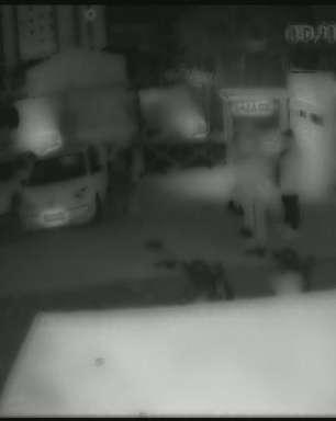 Câmera flagra jovem sendo agredido em balada após 'brincadeira'