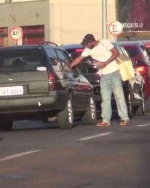 Cascavel: procura por emprego é baixa, mas muitos pedem ajuda nas ruas