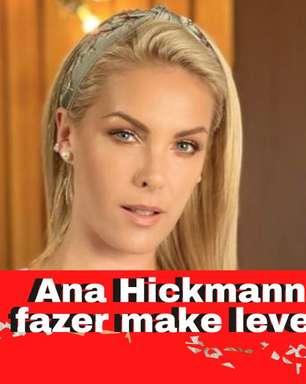 Ana Hickmann ensina a fazer make leve e rápida com brilho
