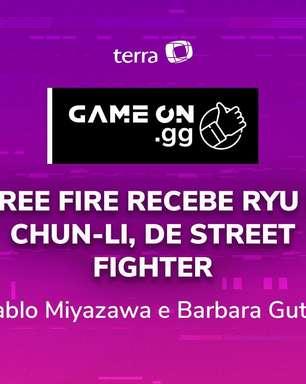 ON.GG: Free Fire recebe Ryu e Chun-Li, de Street Fighter
