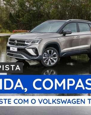 Volkswagen Taos: já dirigimos o SUV na pista de testes