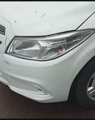 Motociclista fica ferido em acidente de trânsito no Bairro Jardim Lassale em Toledo