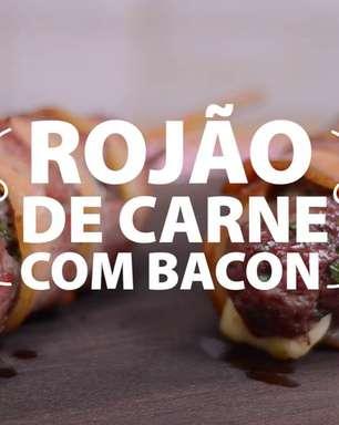 Rojão de carne com bacon
