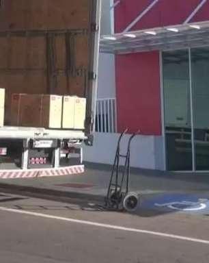 Ares-condicionados avaliados em R$ 700 mil chegam ao Cisop