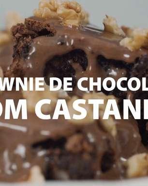 O melhor Brownie de Chocolate do mundo!