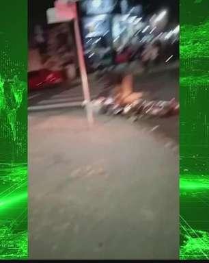 Policial Militar dá voadora em jovem durante abordagem em Pérola