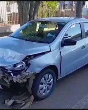 Acidente envolvendo dois carros deixa mulher ferida no Parque São Paulo