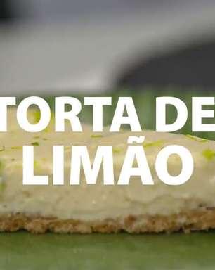 A torta de limão mais fácil que você já viu!