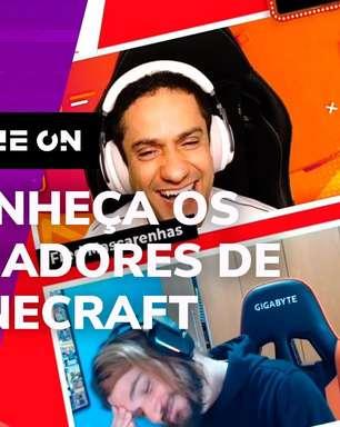 Conheça criadores de conteúdo de Minecraft