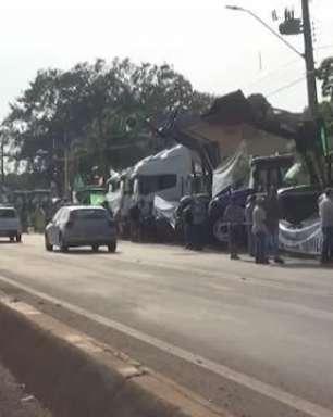 Protestos são realizados em Foz do Iguaçu e região neste feriado