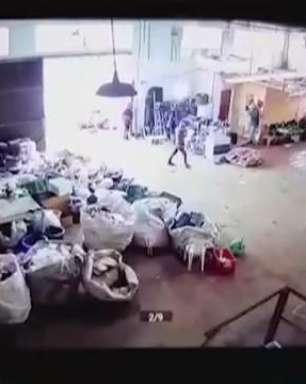 Assalto reciclagem