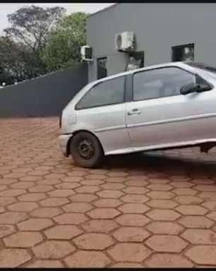 Carro é recuperado no Bairro Interlagos pela GM