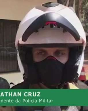 Homem que arrastou motocicleta responderá por tentativa de homicídio culposo, diz PM