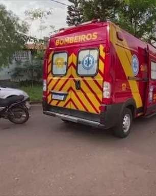 Homem de 20 anos fica ferido em acidente de trânsito no Bairro Turisparque