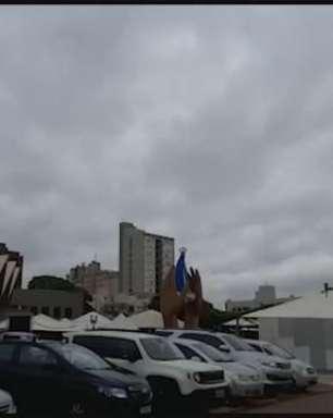 Domingo inicia nublado e com sensação térmica de 16°C em Cascavel